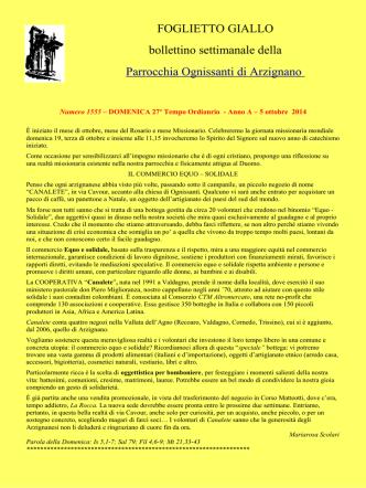 5 ottobre 2014 – Domenica 27a Tempo Ordinario – Anno A – fg1555