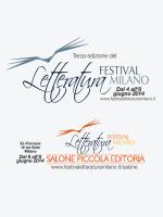 scarica il programma in PDF - Festival Letteratura Milano