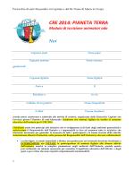 """modulo iscrizione adolescenti - Parrocchia di """"S. Alessandro Martire"""