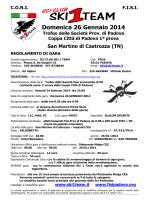 programma - Ski 1 Team