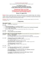 Programma Convegno