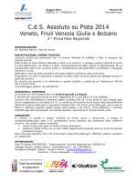 C.d.S. Assoluto su Pista 2014
