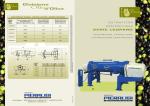 Estrattori centrifughi Pieralisi serie LEOPARD