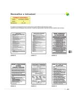 cartelli normetive e istruzioni