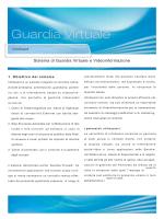 Sistema di Guardia Virtuale e Videoinformazione