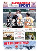 N° 37 – Alessandria Sport del 08/12/2014