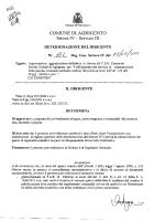 Approvazione aggiudicazione definitiva in favore del C.S.G.