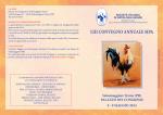 Locandina - Società Italiana di Patologia Aviare