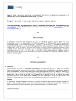 Richiesta chiarimenti Gara Gestione Doc Min Salute ID 1434