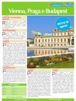 Vienna, Praga e Budapest