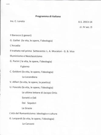 4^ D - Liceo De Ruggieri Massafra