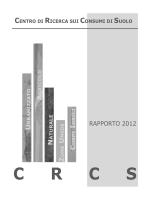 Scarica PDF - Centro di Ricerca sui Consumi di Suolo