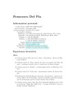Francesco Del Pia