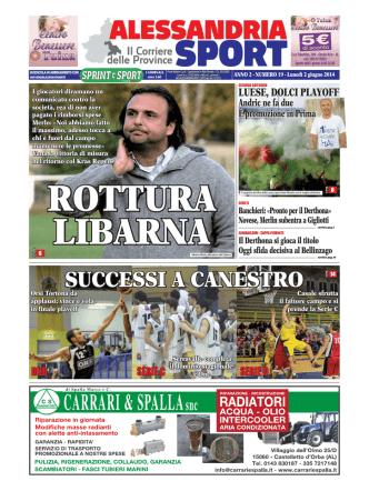 Alessandria Sport del 02/06/2014