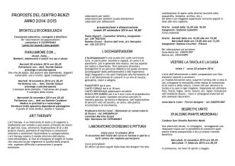 CER 2014-2015 def - Centro Elisabetta Renzi