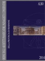 Albo professionale - Frosinone - Ordine degli Architetti, Pianificatori