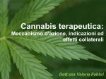 farmacologia cannabis terapeutica