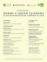 Donne e green economy - Fondazione per lo sviluppo sostenibile