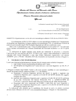 Nota 17849 - Avvio corsi metodologici