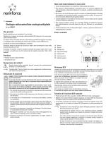 Orologio radiocontrollato analogico/digitale