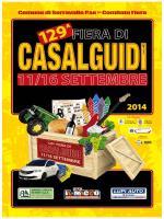 programma fiera casalguidi 2014 - Comune di Serravalle Pistoiese