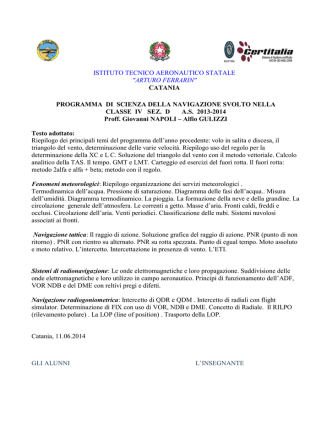 4D nav - Benvenuti in ITAER. Ferrarin.gov.it