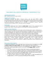 Regolamento IniziativaTrasferimento Titoli HB 2014