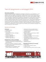 Treno di spegnimento e salvataggio 2014.