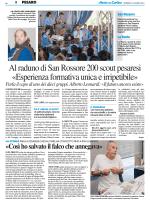Esperienza formativa unica e irripetibile – Il Resto del Carlino Pesaro