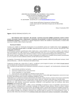 Circolare Assenze e permessi del personale