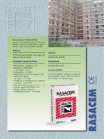 Rasacem - Scheda tecnica ITA