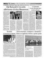 Dal Burundi il ricordo affettuoso di don Masseroni