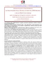 La valutazione delle scuole DPR 80-13