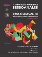 Programma 3 Congresso - ISA - Istituto Italiano Sessoanalisi