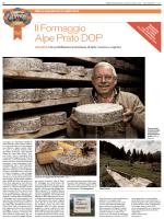 Il Formaggio Alpe Prato DOP