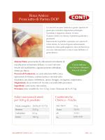 Scheda Tecnica Rosa Antico Prosciutto di Parma DOP
