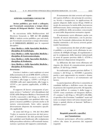 Avviso Medici Varie Discipline [in formato pdf]