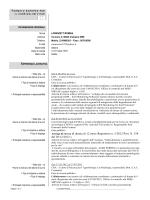 Assengo di ricerca di durata di 12 mesi (Repertorio n. 5/2012