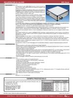 recuperatori di calore per uso residenziale