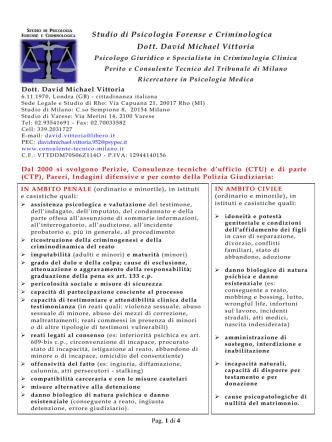 Accedi al Curriculum - ElencoPsicologi.it