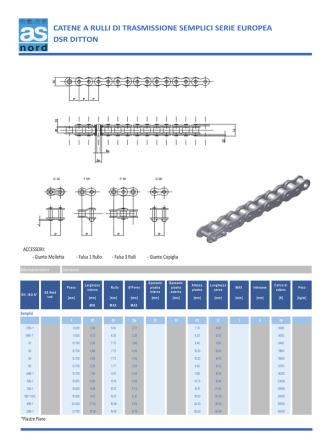 Catalogo DSR Ditton ISO