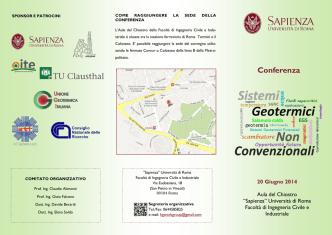 Conferenza - Unione Geotermica Italiana
