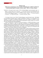 Roberto Conti Dalla Fransson alla Siragusa. Prove