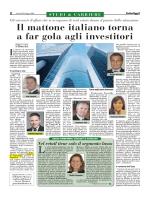 Il mattone italiano torna a far gola agli investitori