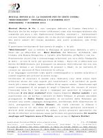 presentazione della rassegna - Istituto comprensivo n°2 Cavour