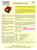 Scheda tecnica - SARA - electronic instruments