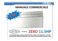 MANUALE COMMERCIALE