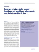 articolo completo in pdf - Giornale Italiano di Diabetologia e