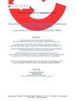 una chiave di lettura della norma ISO 14001