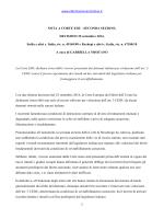 www.ildirittoamministrativo.it 1 NOTA A CORTE EDU